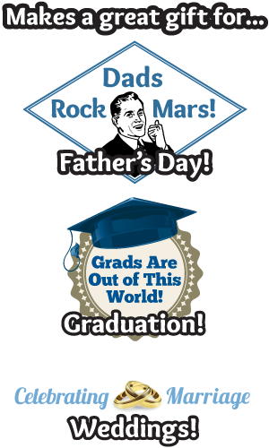 A great gift for Father's Day, Graduation, Weddings!.