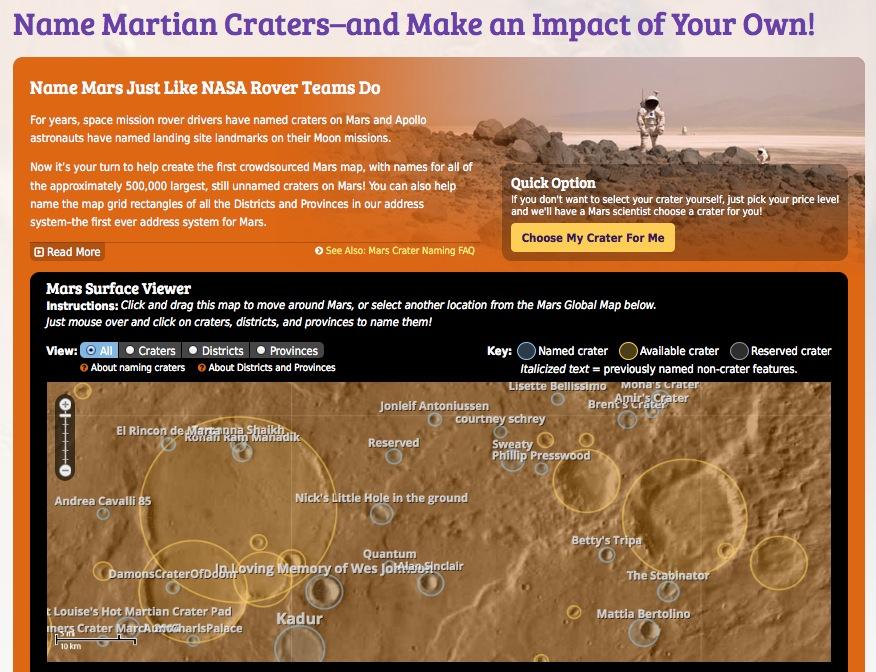 MarsMapScreenShot