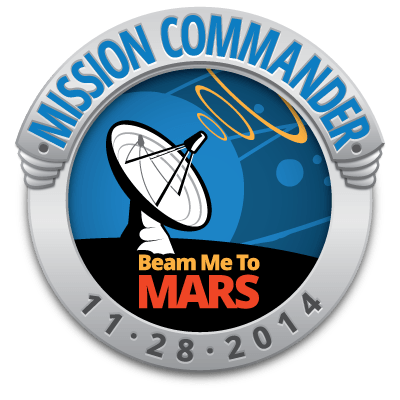 Beam Me To Mars Mission Commander
